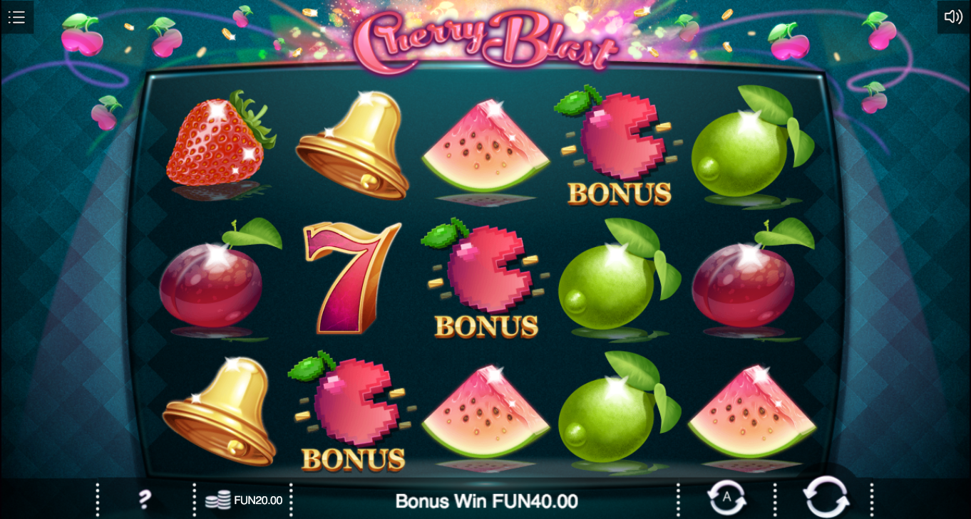 cherry blast screenshot