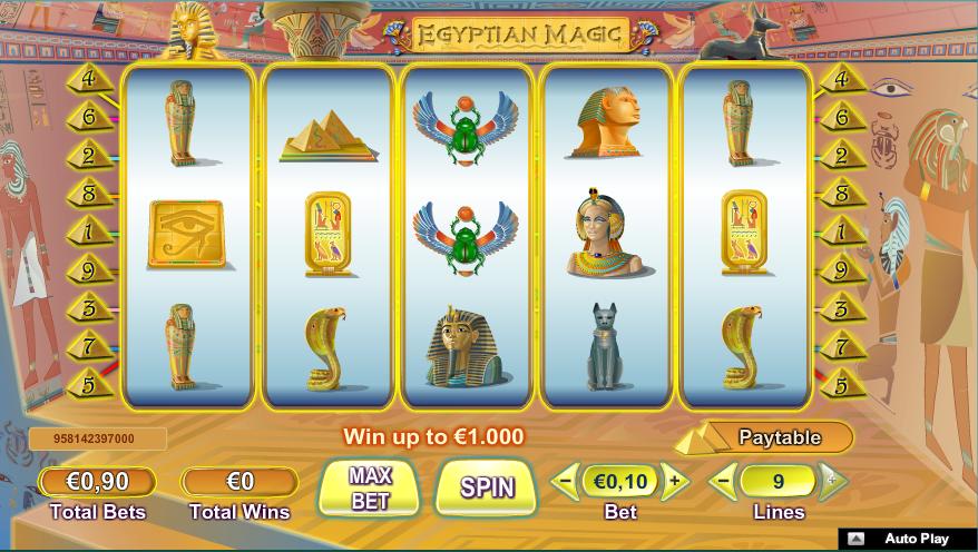 egyptian magic screenshot
