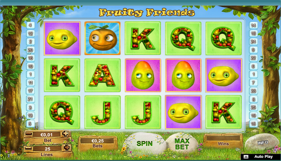 fruity friends screenshot