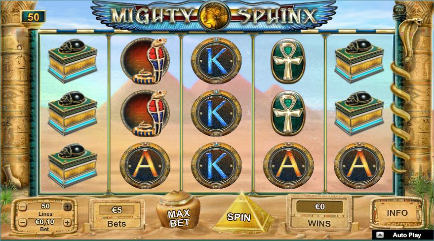 mighty sphinx screenshot