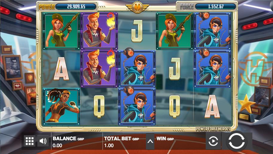 Power Force Heroes Slot Machine Online ᐈ Push Gaming™ Casino Slots