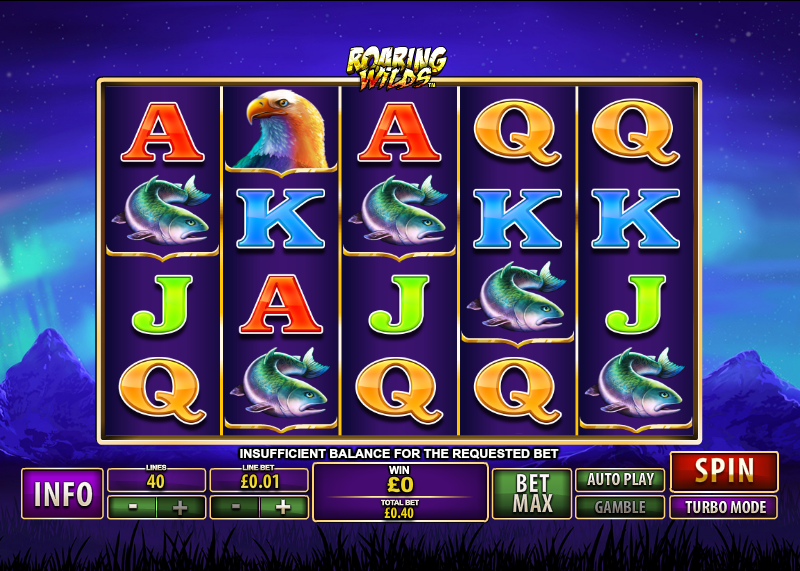 Play Roaring Wilds Slot Online at Casino.com UK