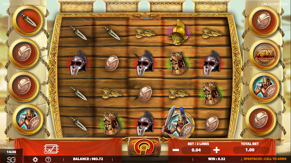 Spiele Spartacus Call To Arms - Video Slots Online