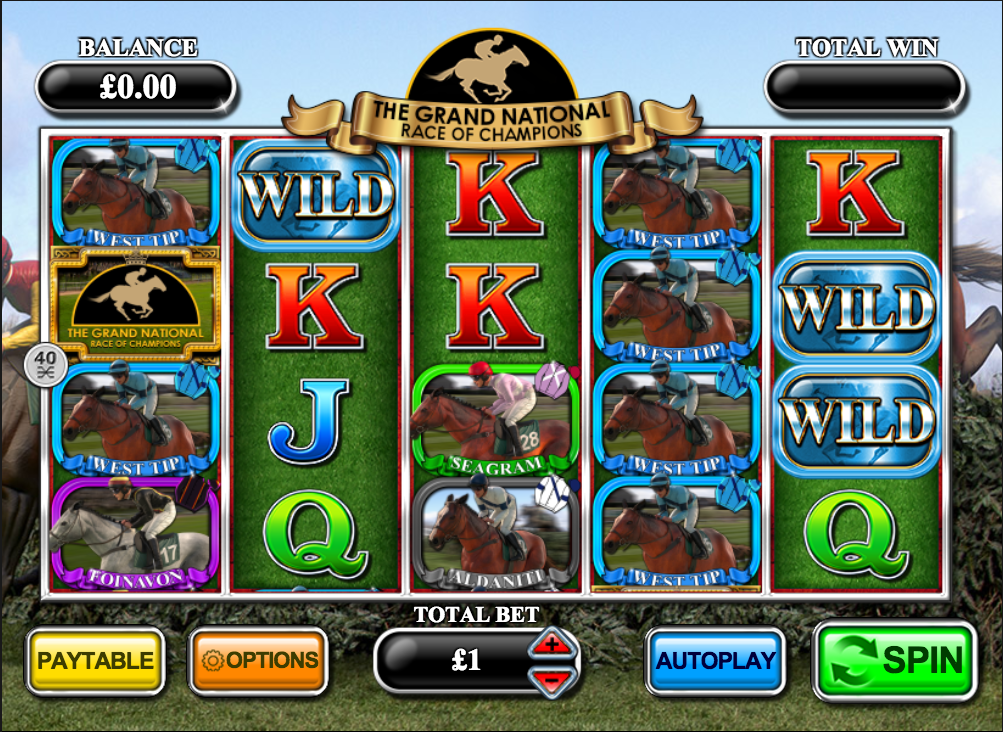 The Grand National Race of Champions Slots - Play for Free