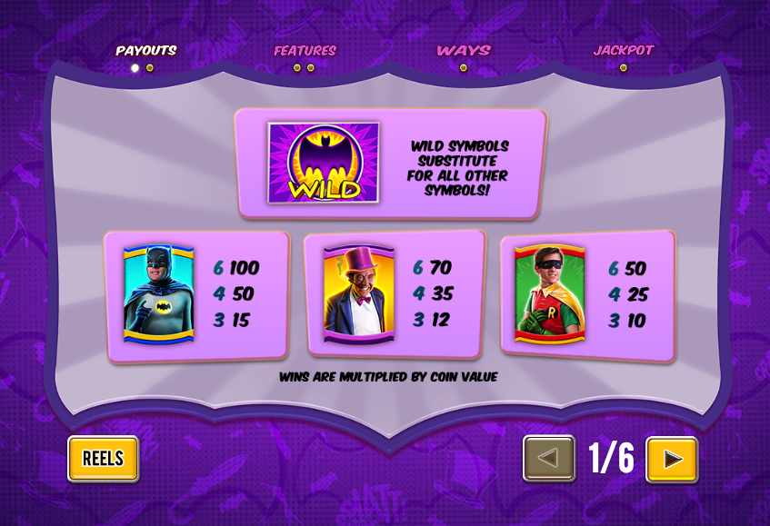 Batman & the Penguin Prize Slot Machine - Play for Free Now