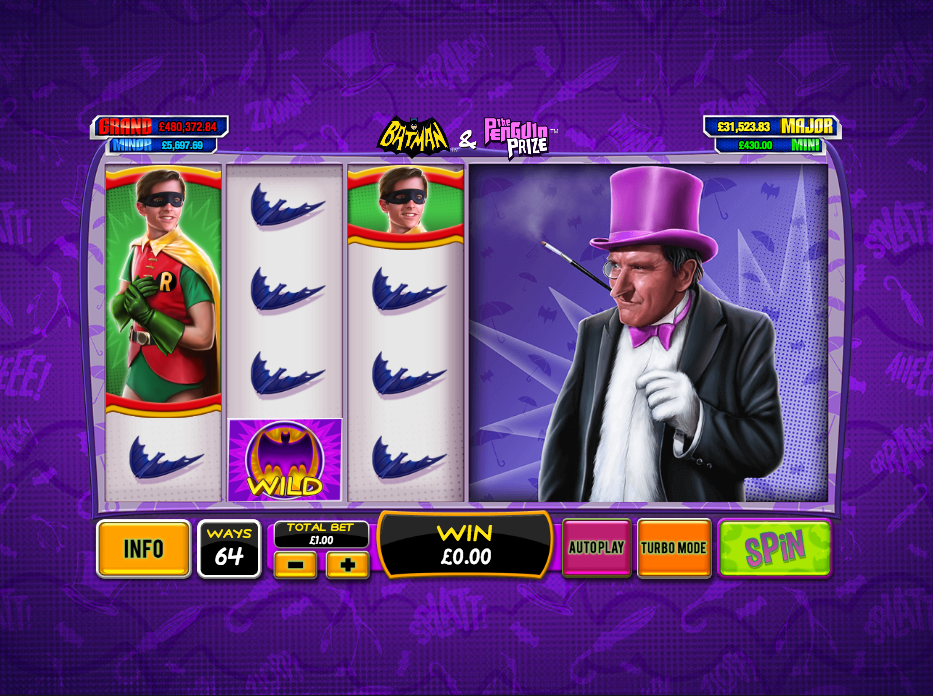 batman & the penguin prize screenshot