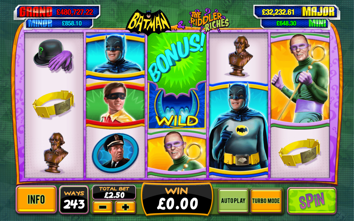 batman & the riddler riches screenshot