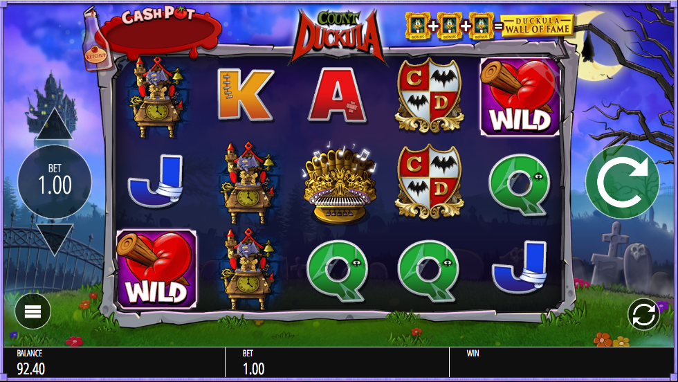 Count Duckula Slots - Try this Online Game for Free Now