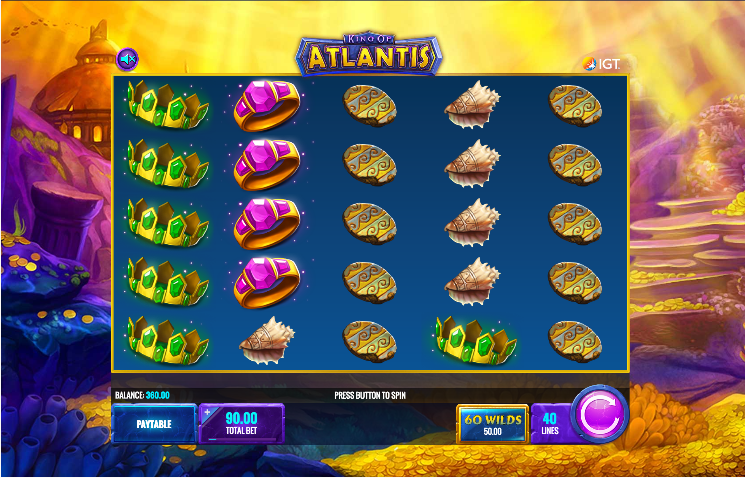 king of atlantis screenshot