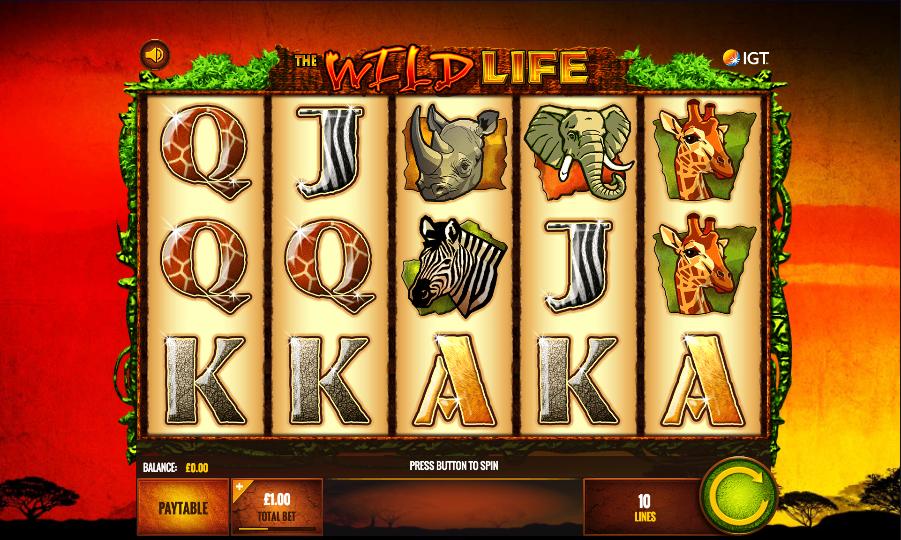 Wild Life Slots