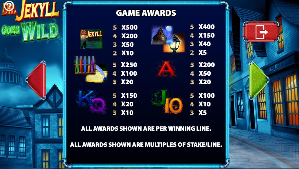 Spiele Dr. Jekyll Goes Wild - Video Slots Online