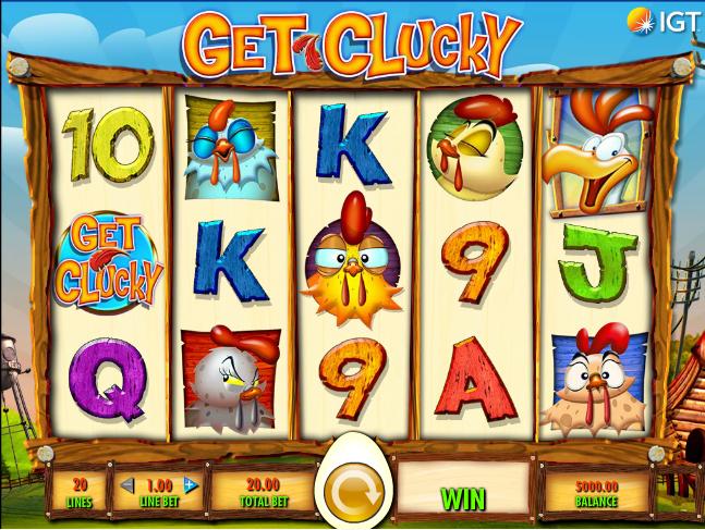 get clucky screenshot
