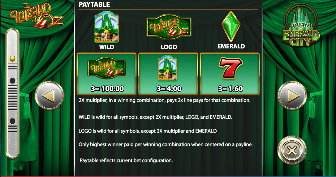 The Wizard of Oz: Road to Emerald City Slot Machine Online ᐈ WMS™ Casino Slots