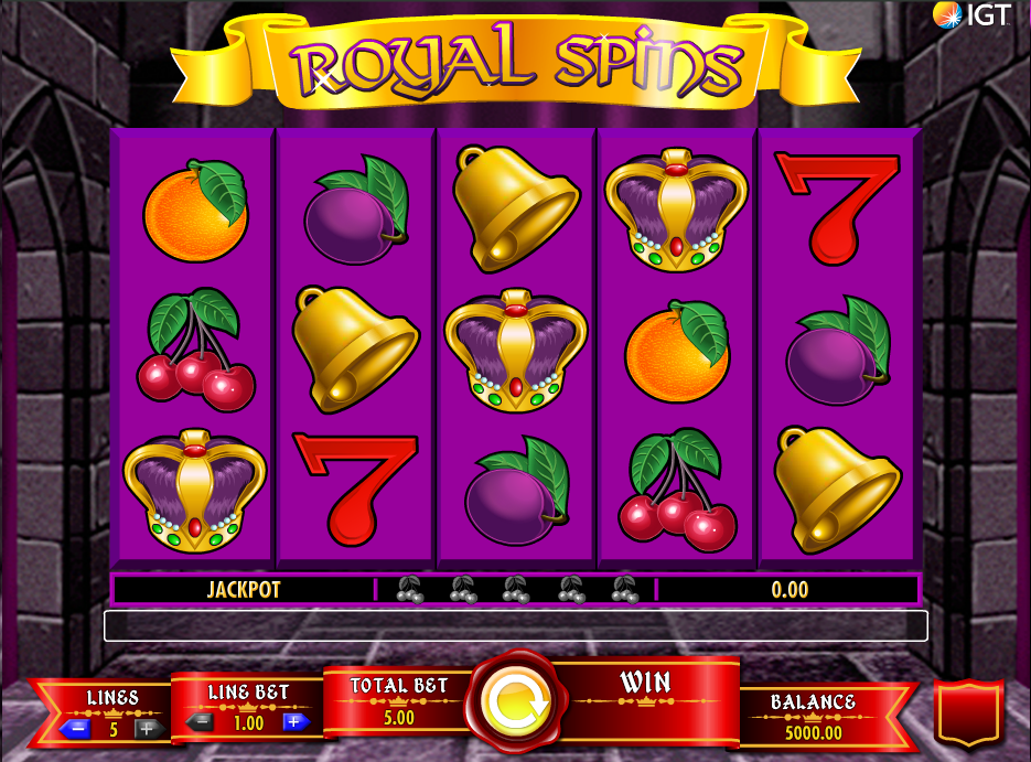 royal spins screenshot
