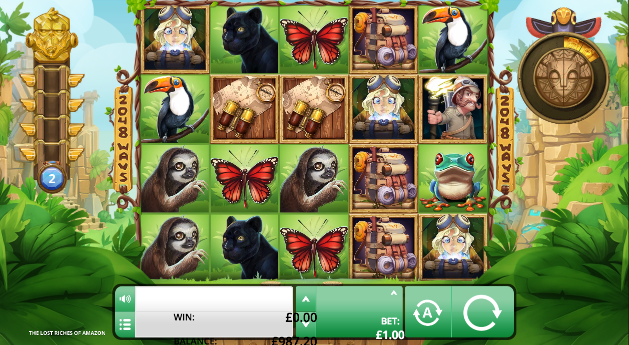 the lost riches of amazon screenshot