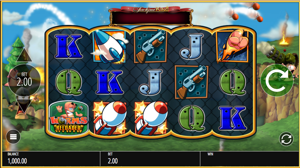 Worms Reloaded screenshot
