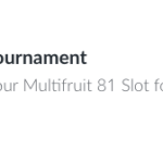 Play Multifruit 81 For A Share Of £5000 Cash!
