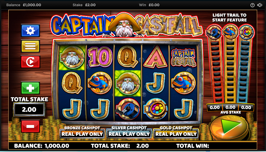 captain cashfall screenshot
