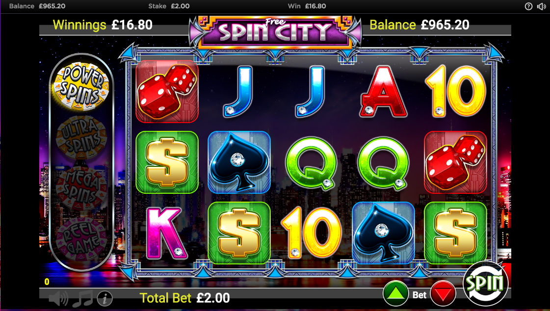 free spin city screenshot