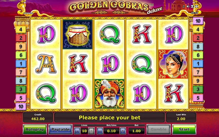 golden cobras screenshot
