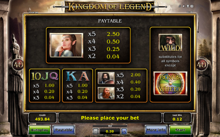 The kingdom slot machine