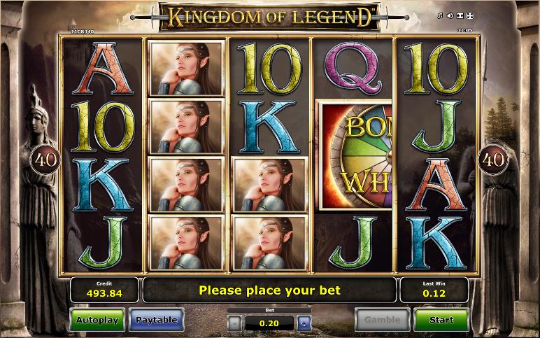 kingdom of legend screenshot