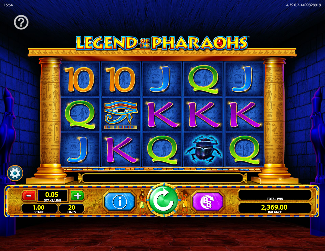 legend of the pharaohs screenshot