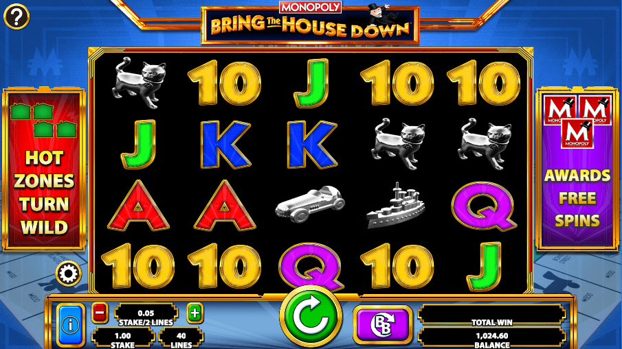 monopoly bring the house down screenshot