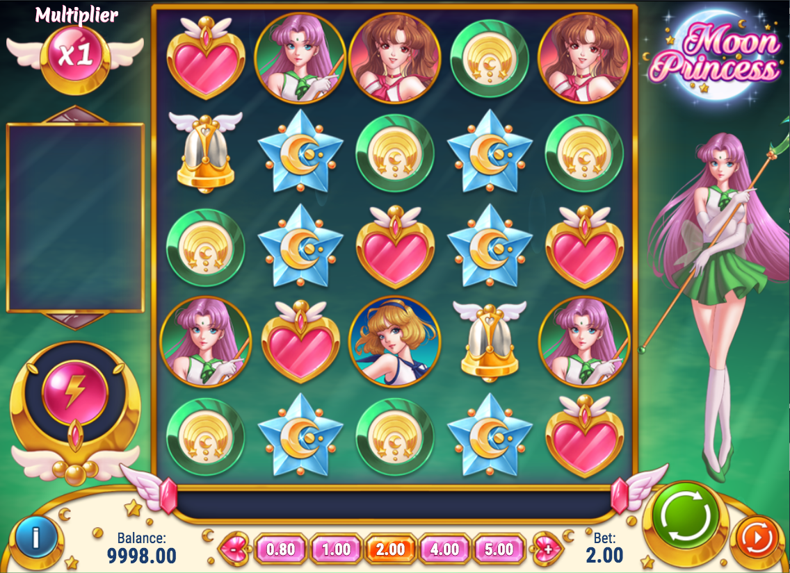 moon princess screenshot