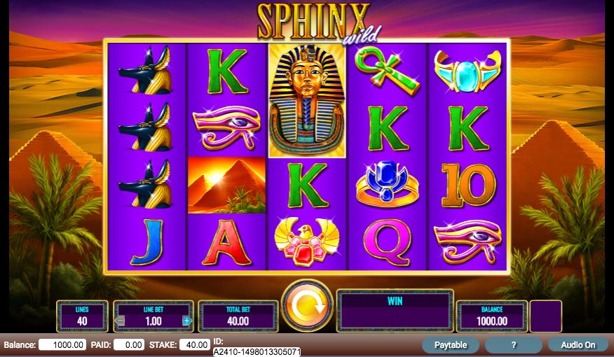sphinx wild screenshot