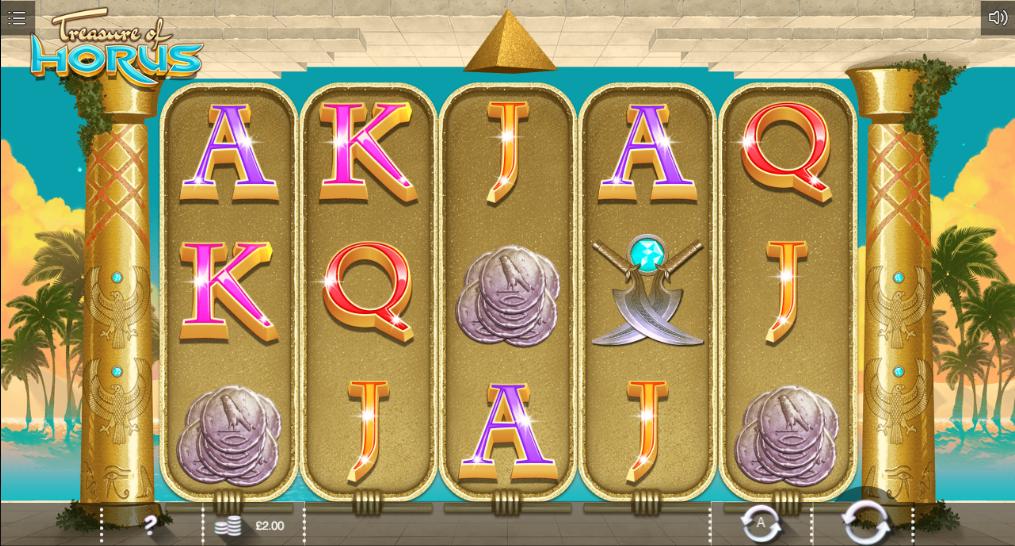 Treasure of Horus Scratch От Iron Dog - Онлайн Игровой Автомат