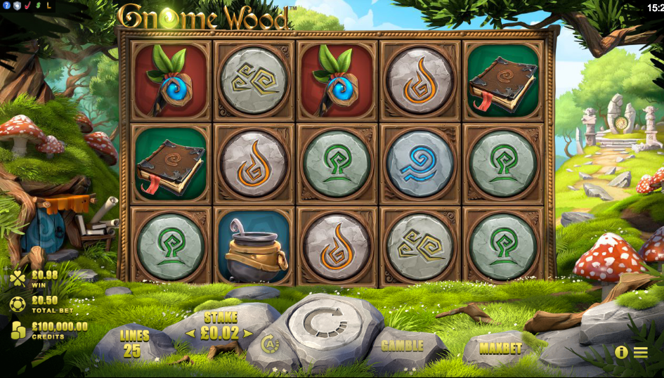 Gnome Wood Slot Machine - Review and Free Online Game