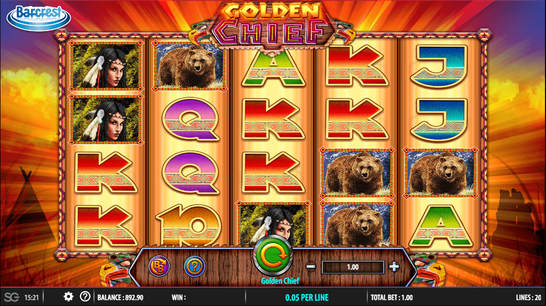 Golden Chief Slot - Try it Online for Free or Real Money