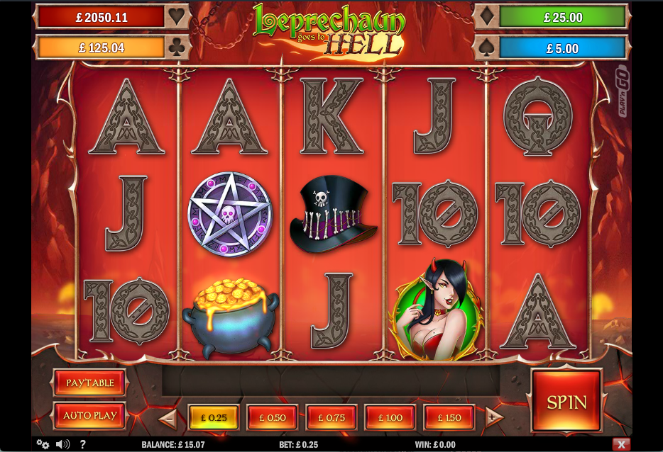 Leprechaun Goes To Hell Online Slot - Play N Go Slots - Rizk Casino