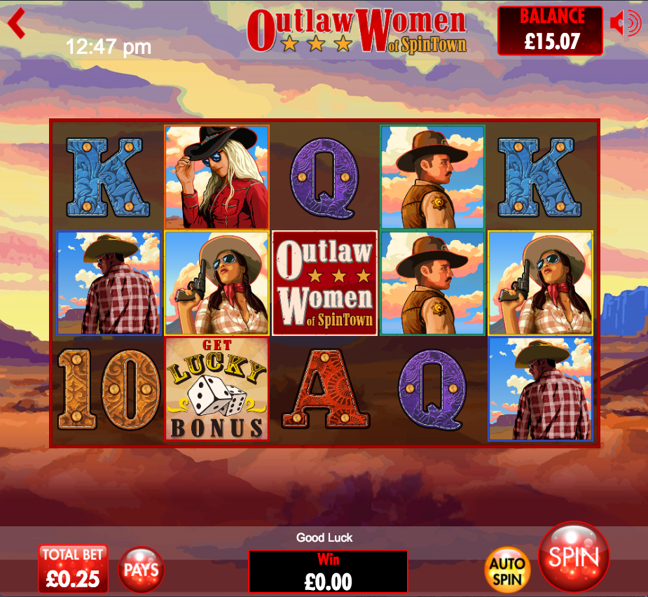 outlaw women of spintown screenshot