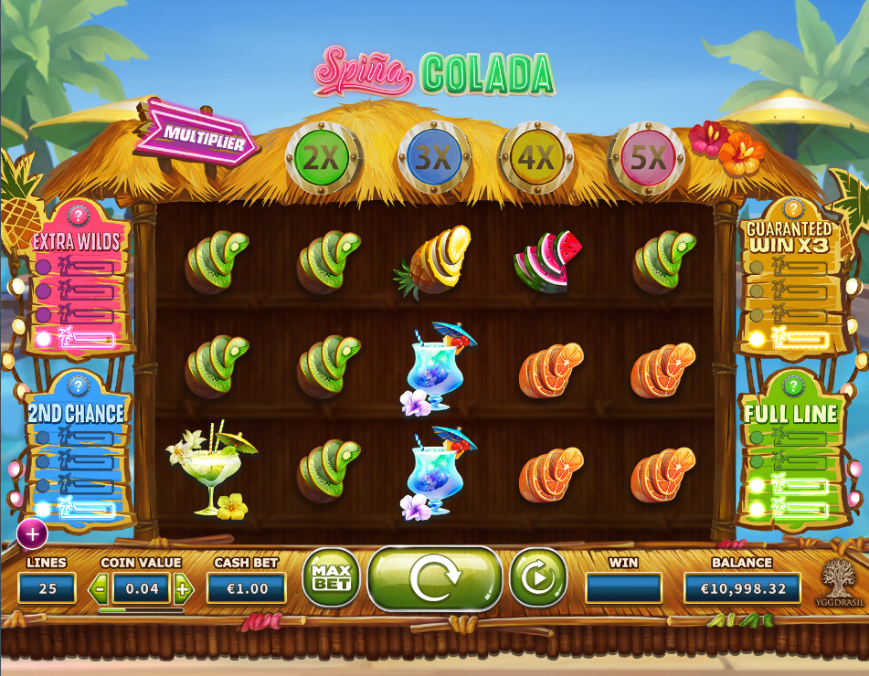 spina colada screenshot