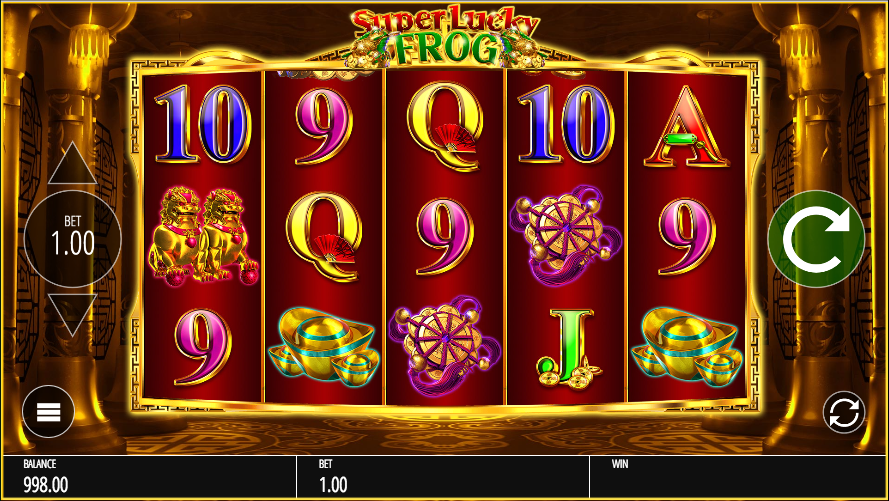 Super Lucky Frog Progressive Jackpot for Real Money