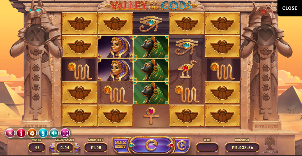 valley of the gods screenshot