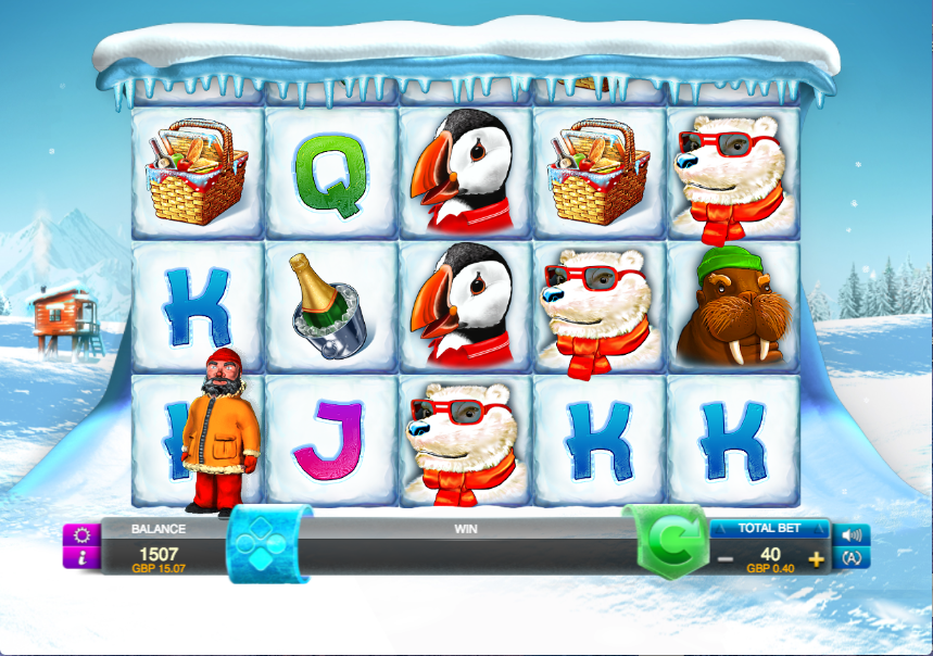 arctic party screenshot