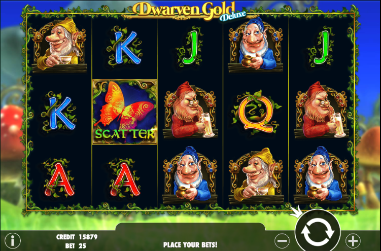 dwarven gold deluxe screenshot