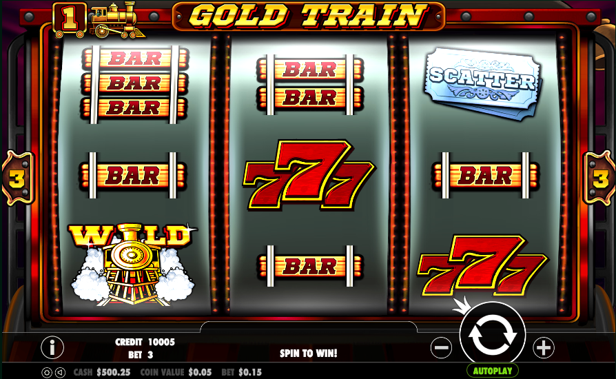 gold train screenshot