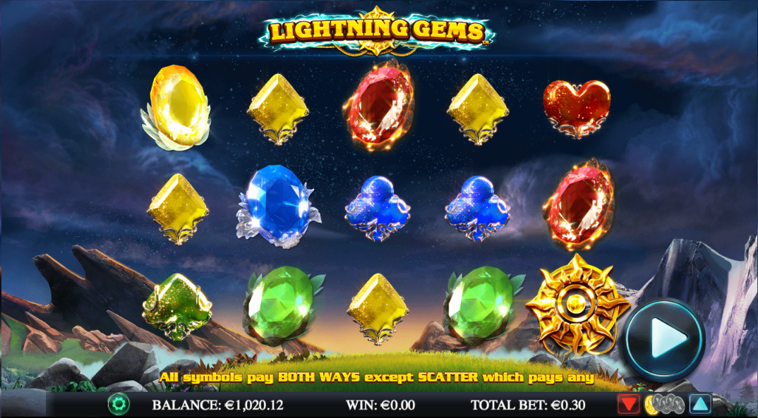 lightning gems screenshot