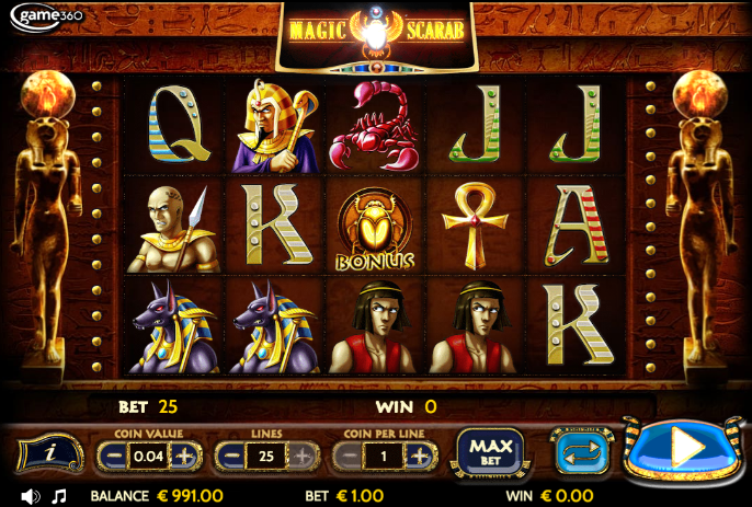 magic scarab screenshot