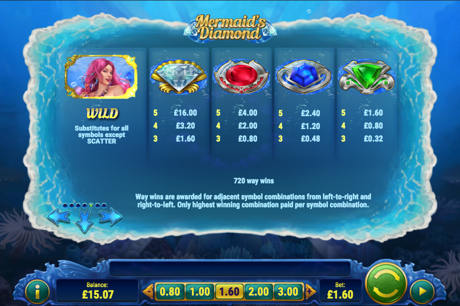 Spiele MermaidS Diamond - Video Slots Online