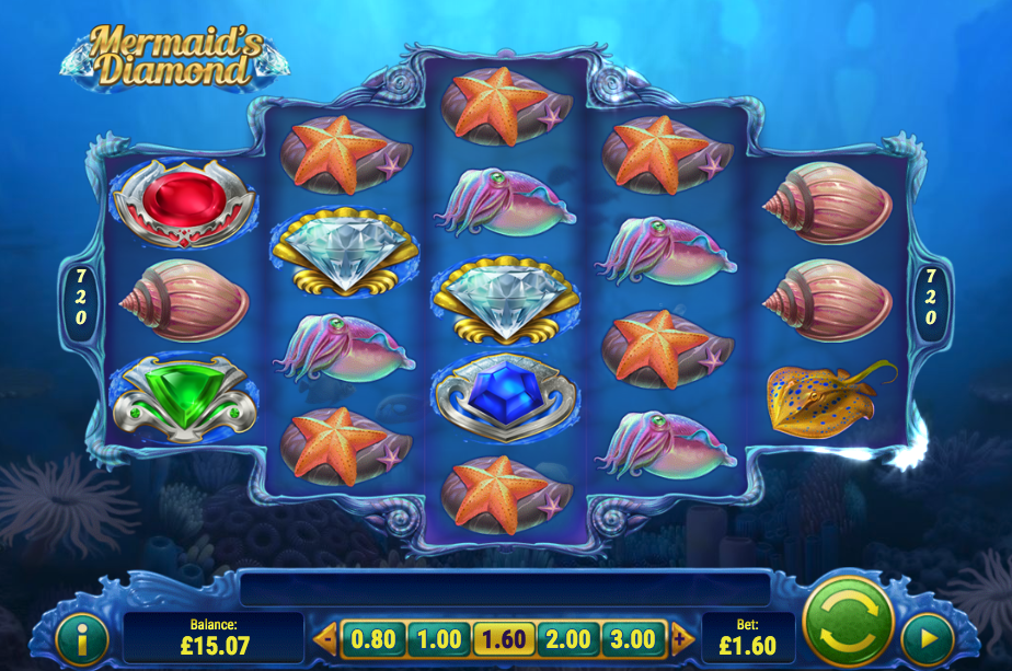 mermaids diamond screenshot