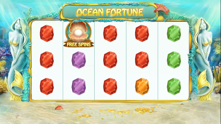 ocean fortune screenshot