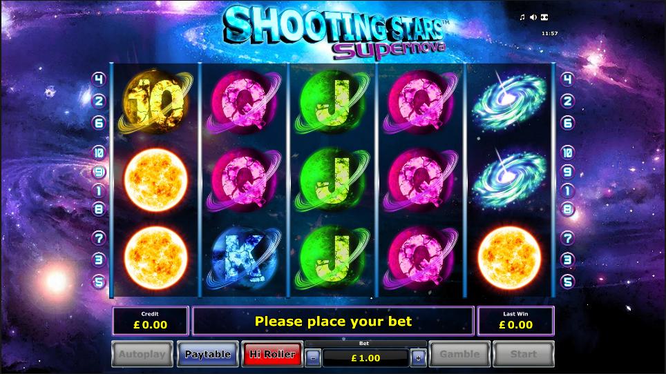 shooting stars supernova screenshot
