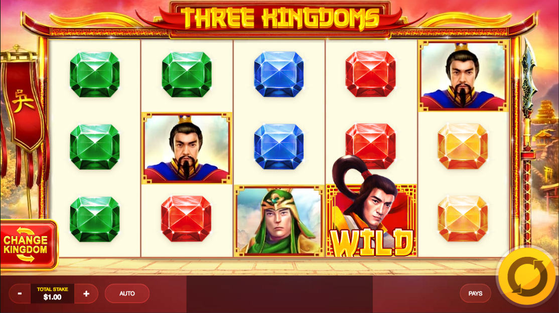 Three Kingdoms Slots - Available Online for Free or Real