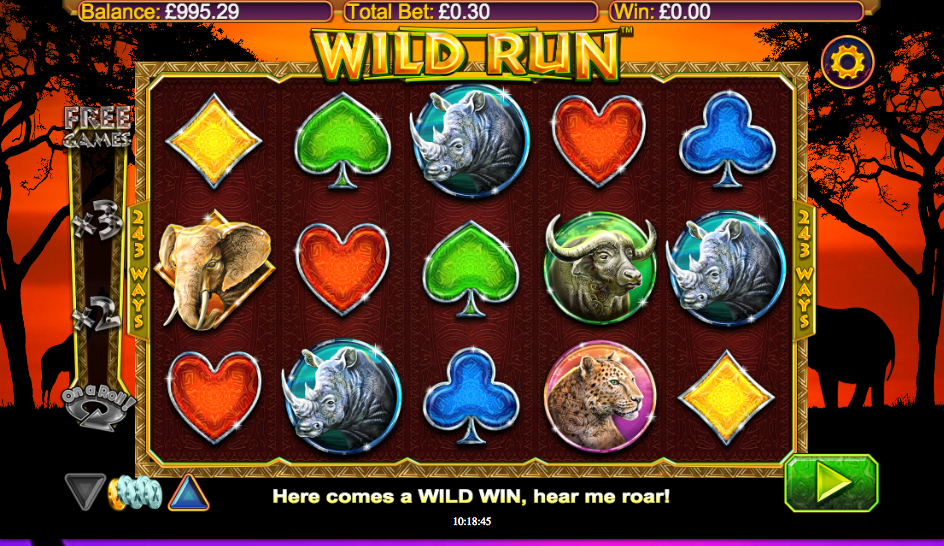 wild run screenshot