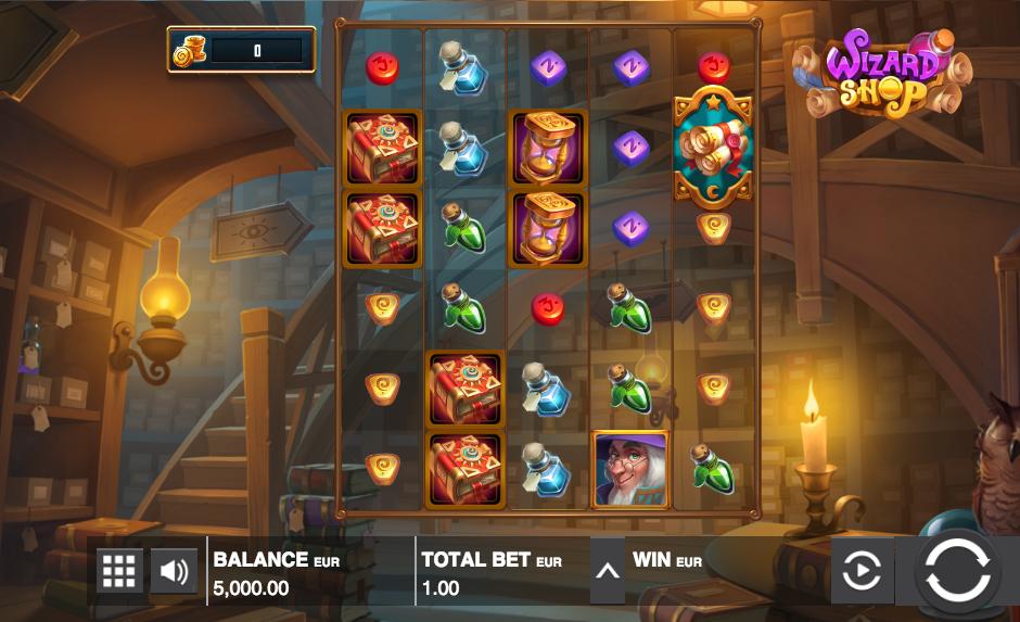wizard shop screenshot